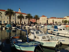 Split's picturesque waterfront