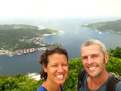 Yay! We made it to the top of Mt Alava and celebrated with a selfie