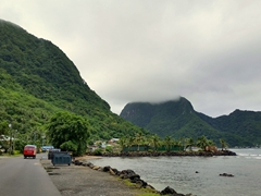 Our Sunday afternoon ridealong - checking out Pago's harbor