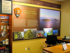 Visit the National Park visitor center to help plan your American Samoa itinerary - these guys were an excellent resource!