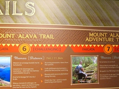 Mount Alava Adventure Trail - the most challenging hike in American Samoa