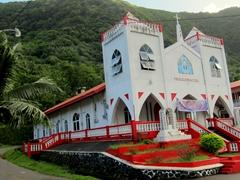 A bright and inviting church