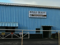 Ronald Reagan marine railway; Pago Pago Harbor