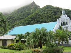 Another of Tutuila's many churches