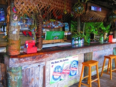 Tisa's barefoot bar - a must visit while on Tutuila!