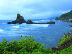 The beautiful southern coastline of Tutuila
