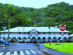 Police headquarters; Pago Pago