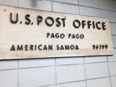 US Post Office in Pago Pago