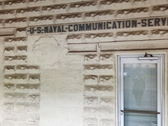 U.S. Naval Communication Service building in Pago Pago