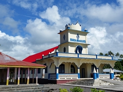 Every village in Savai'i has its own church
