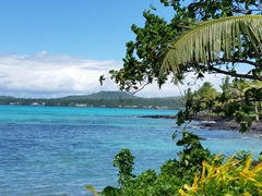 Stunning scenery on our drive around Savai'i