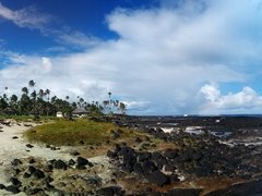 Panoramic view of the Alofaaga blowholes