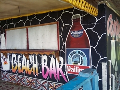 Beach bar; Janes Beach Fales
