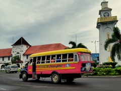 Clock tower; Apia