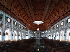Interior view of Mulivai Cathedral