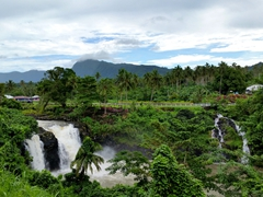 One of dozens of waterfalls on Upolu island
