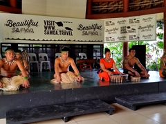 Kava ceremony at the Samoa Cultural Village