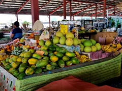 Fruit for sale at the Maketi Fou, Apia's main market