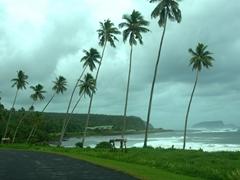 Upolu's southern coast