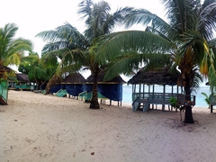 Our home for a few nights; Taufua Beach Fales