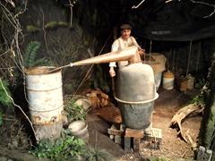 Making moonshine; Hokonui museum