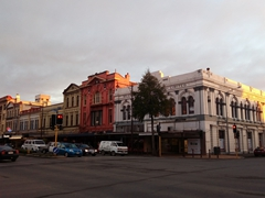 Handsome buildings in downtown Invercargill