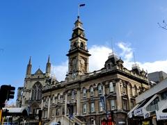Dunedin's handsome town hall