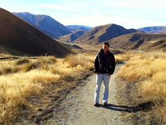 Quick hike around Lindis Pass