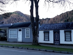 Petite houses in historic Arrowtown