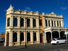 Oamaru has the finest display of Victorian architecture in New Zealand - wandering the streets was a delight!