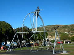 Steampunk playground in funky Oamaru