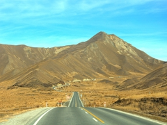Driving the Lindis Pass