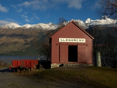 Picturesque Glenorchy is located at the northern end of Lake Wakatipu