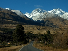 The 45 minute drive from Glenorchy to Queenstown is one of New Zealand's most scenic