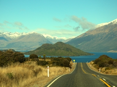 Amazing views on our drive back to Queenstown from Glenorchy