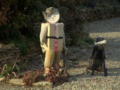 Boy and dog decoration; Ophir