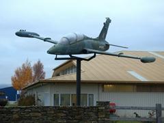 Warbirds and Wheels museum; Wanaka