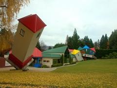 The Leaning Tower of Wanaka at Puzzling World; Wanaka