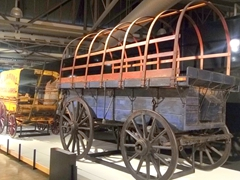 Transport history at the Toitū Otago Settlers Museum