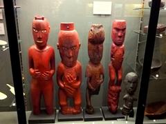 Maori history section of the Otago Museum; Dunedin