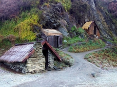 Arrowtown's Chinese Settlement (set up by Chinese during the Otago gold rush in the 1860s)