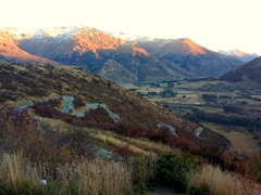 Fantastic views from Crown Range Road, the highest main road in New Zealand