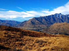 Although a demanding hike, the Queenstown Hill will reward you with fine views of Lake Wakatipu, the Remarkables, Cecil Peak, Walter Peak, and other surrounding mountains