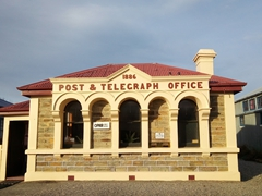 This post office was built in 1886, a reminder of the gold rush era of quaint Ophir