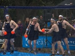 Dodgeball championship; Queenstown Winter Festival