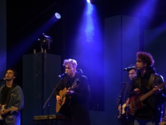 """Christchurch band """"Nomad"""" was a crowd favorite during the Queenstown Winter Festival"""