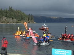 $1000 prize money is up for grabs for the first place home made raft to cross the finish line!