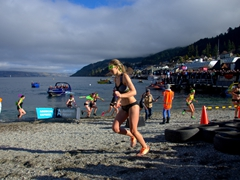 Women racing in the Undy 500; Queenstown Winter Fest