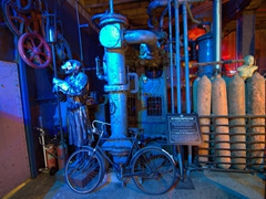 Interior of Steampunk Headquarters, New Zealand's most popular steampunk attraction