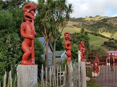Entrance to Okains Bay Maori & Colonial Museum